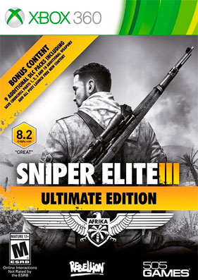 Скачать торрент Sniper Elite III: Ultimate Edition [REGION FREE/RUSSOUND] (LT+3.0) на xbox 360 без регистрации