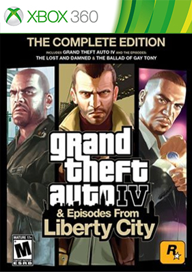 Скачать торрент Grand Theft Auto 4: Complete Edition [DLC/GOD/RUS] на xbox 360 без регистрации