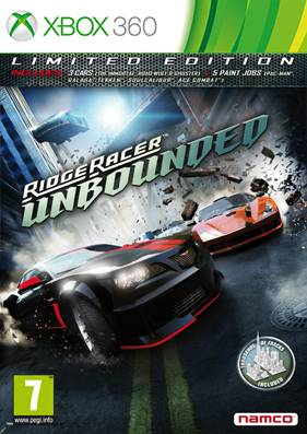 Ridge Racer Unbounded: Limited Edition [GOD/RUS]