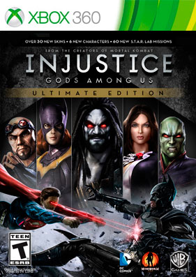 Injustice: Gods Among Us - Ultimate Edition [REGION FREE/RUS] (LT+3.0)