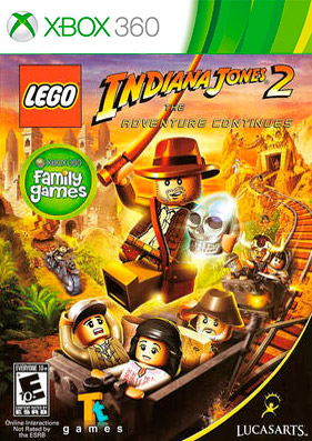 LEGO Indiana Jones 2: The Adventure Continues [REGION FREE/GOD/RUS]